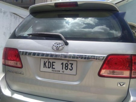 2nd Hand Toyota Fortuner 2006 at 110000 km for sale in Cebu City