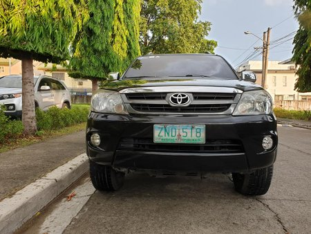 Selling Black Toyota Fortuner 2008 Automatic Gasoline