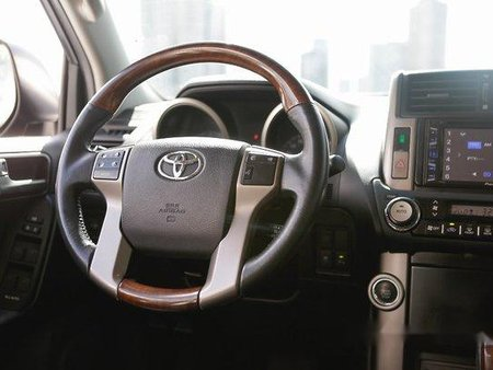 Black Toyota Land Cruiser Prado 2014 for sale in Quezon City