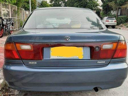 Blue Mazda Familia 1996 for sale in Quezon City