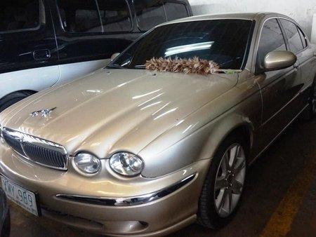 Sell Beige 2004 Jaguar X-Type in Manila