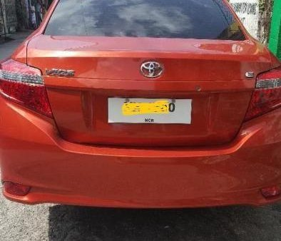 Orange Toyota Vios 2016 for sale in Indang