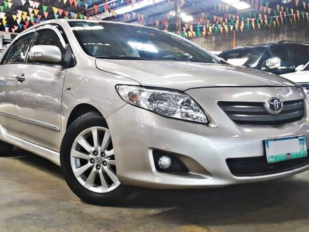 Used 2010 Toyota Corolla Altis at 70000 km for sale in Quezon City