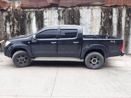 Black 2010 Toyota Hilux Automatic Diesel for sale