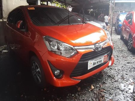 Selling Toyota Wigo 2019 at 10000 km in Quezon City