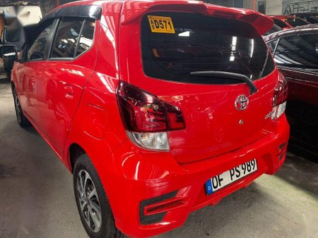 Sell Red 2019 Toyota Wigo in Quezon City