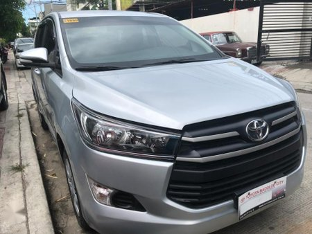 Silver Toyota Innova 2018 for sale in Quezon City