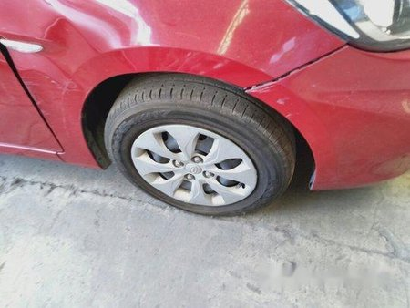 Sell Red 2017 Hyundai Accent at 26000 km in Makati