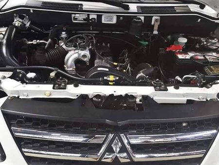 Sell White 2017 Mitsubishi Adventure Manual Diesel in Quezon City