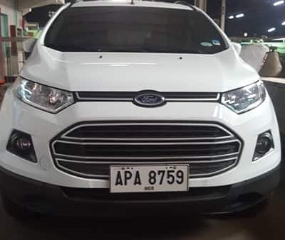 Sell White 2015 Ford Ecosport at 49000 km in Manila