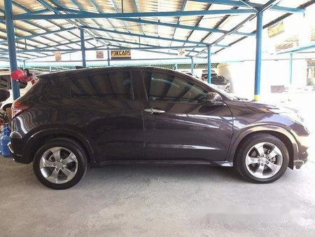 Selling Grey Honda Hr-V 2015 in Parañaque