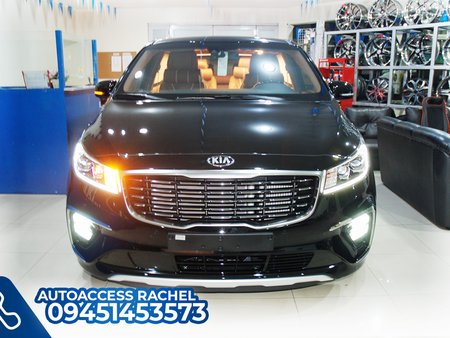 Black Facelifted Kia Carnival Platinum G6 2020 for sale in Quezon City