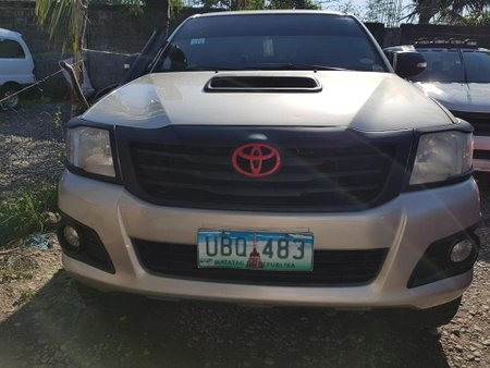 Selling Used 2013 Toyota Hilux Manual Diesel