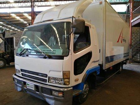 White Mitsubishi CanterA 2006 Truck at 100000 km for sale