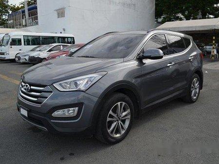 Sell Grey 2017 Hyundai Santa Fe at 45699 km in Muntinlupa