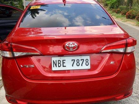 Red Toyota Vios 2018 Sedan Automatic Gasoline for sale in Manila