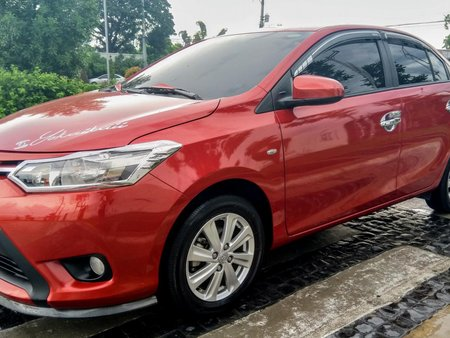 Red Toyota Vios 2018 at 14000 km for sale