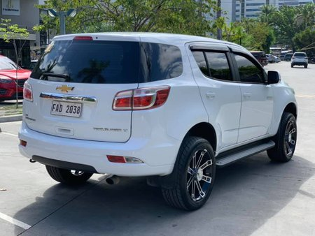 Sell White 2017 Chevrolet Trailblazer Automatic in Cebu