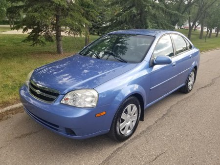 Sell Blue 2004 Chevrolet Optra Sedan in Rizal