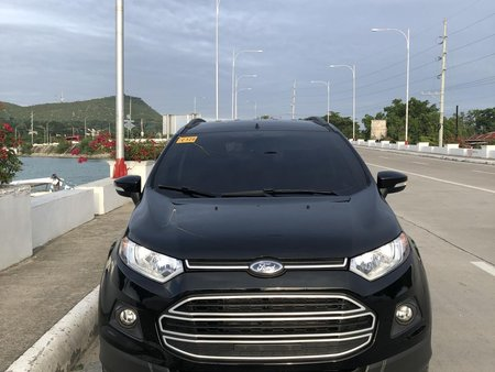 Selling Black Ford Ecosport 2018 at 5000 km in Bohol