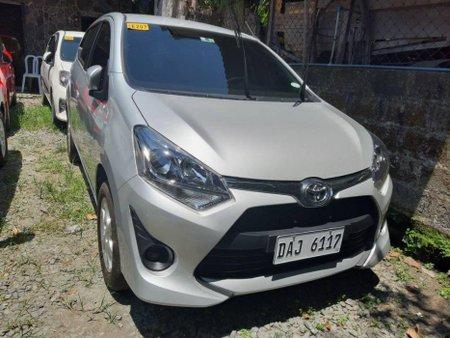 Silver Toyota Wigo 2019 for sale in Quezon City