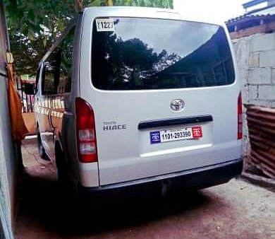 2017 Toyota Hiace for sale in Davao City
