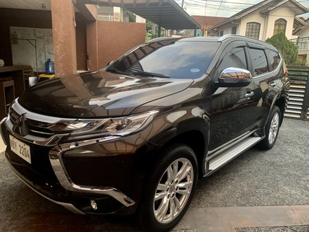 Selling Brown Mitsubishi Montero Sport 2017 Automatic Diesel