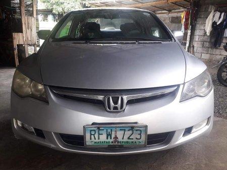 Sell Silver 2007 Honda Civic at 89000 km in Makati