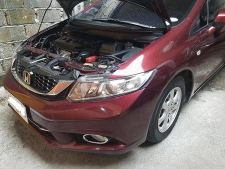 Red 2015 Honda Civic for sale in Makati