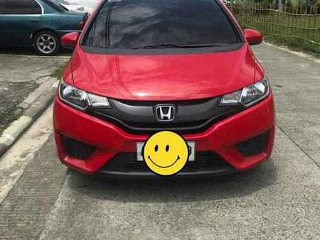 Selling Red Honda Jazz 2016 Automatic Gasoline