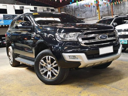 Sell Black 2017 Ford Everest Automatic Diesel at 13000 km