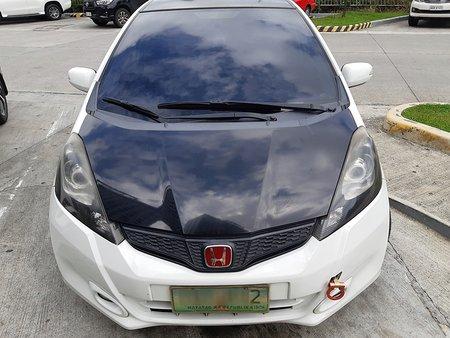 White 2012 Honda Jazz at 53000 km for sale in Manila
