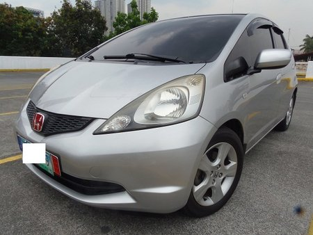 Silver 2010 Honda Jazz Hatchback at 42000 km for sale