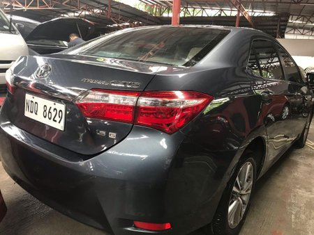 Selling Grey Toyota Corolla Altis 2016 in Quezon City