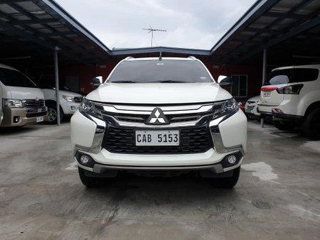 Selling White Mitsubishi Montero Sport 2017 Manual Diesel in Las Pinas