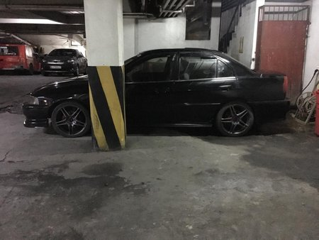 Selling Black Mitsubishi Lancer 2001 Automatic in Manila