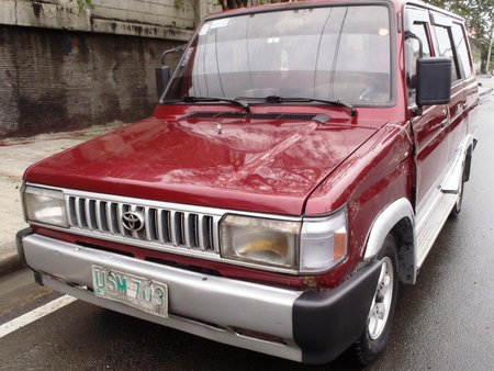 Red 1997 Toyota Tamaraw Manual Gasoline for sale in Manila