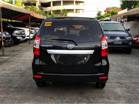 Black Toyota Avanza 2017 Automatic for sale