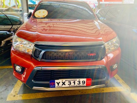 2nd Hand Toyota Hilux 2016 Automatic For sale