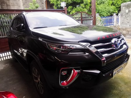 Sell Used 2018 Toyota Fortuner Automatic Diesel in Quezon City
