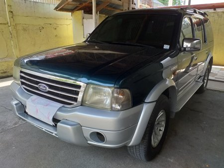 Sell Used 2004 Ford Everest Manual in Mandaue