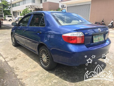Sell Blue 2006 Toyota Vios Manual in Isabela