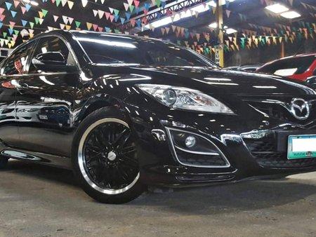 Black 2011 Mazda 6 Sedan at 68000 km for sale in Quezon City