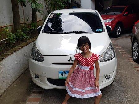 Selling Used Mitsubishi Mirage 2013 Hatchback in Metro Manila