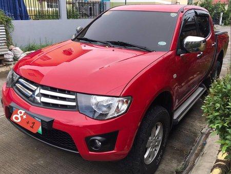 Selling Red Mitsubishi Strada 2014 Automatic Diesel