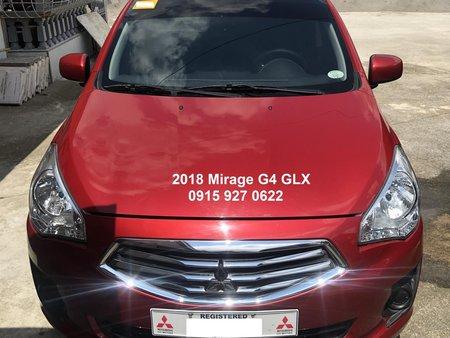 Red 2018 Mitsubishi Mirage G4 Sedan at 7400 km for sale