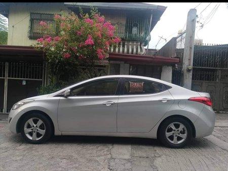 Silver 2012 Hyundai Elantra for sale in Metro Manila