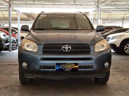 Blue 2007 Toyota Rav4 Automatic Gasoline for sale