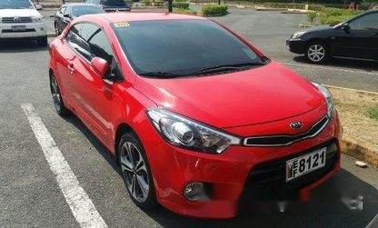 Red Kia Forte 2016 Automatic for sale