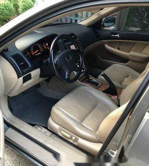 Grey Honda Accord 2003 at 110000 km for sale